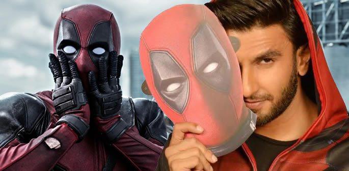 Ranveer Singh dubs Hindi Version of Deadpool 2