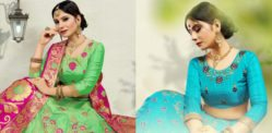Beautiful Silk Lehenga Designs to Look Spectacular In