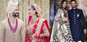 Sonam Kapoor and Anand Ahuja Wedding