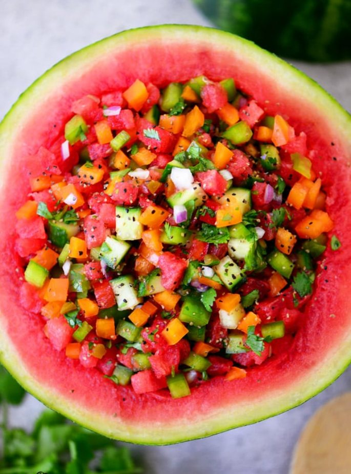 Watermelon Salsa