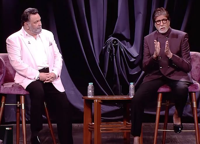 amitabh bachchan and rishi kapoor cut