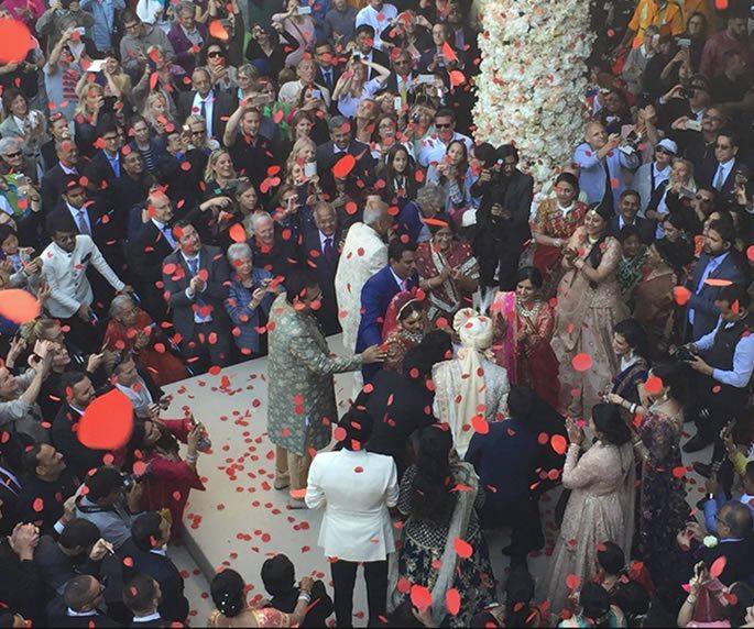 meagan देसी शादी के मेहमान