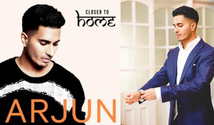 Arjun has released his debut album, Closer To Home