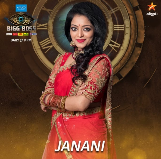 Big Boss Tamil 2 Contestant Janani Iyer