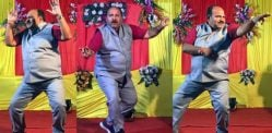 India's 'Dancing Uncle' goes Viral and adored by Bollywood