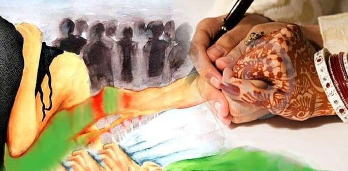love marriage pakistan gang rape