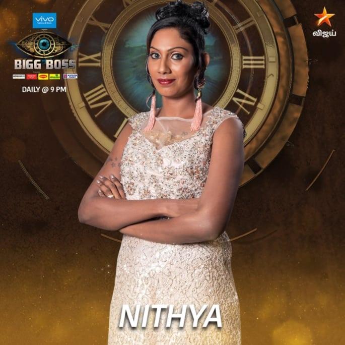 Bigg Boss Tamil 2 Contestant Nithya