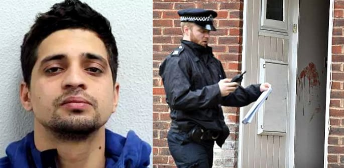 police hunt pakistani man