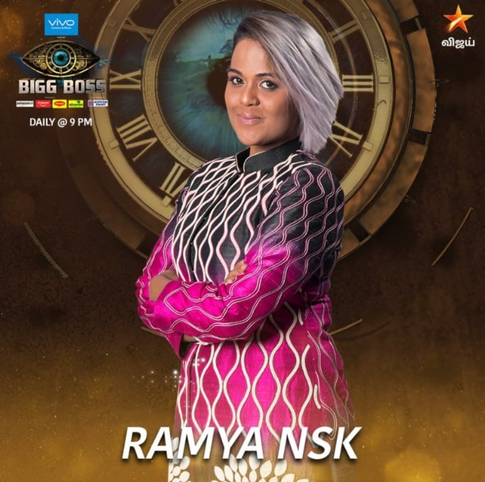 Big Boss Tamil 2 Contestant Ramya Nsk