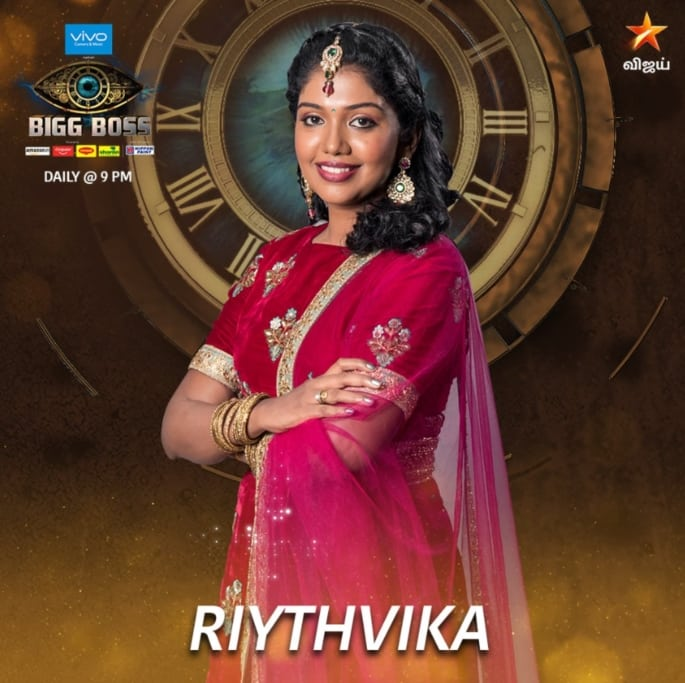 Big Boss Tamil 2 Contestant Riythvika