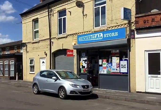 shop worker store