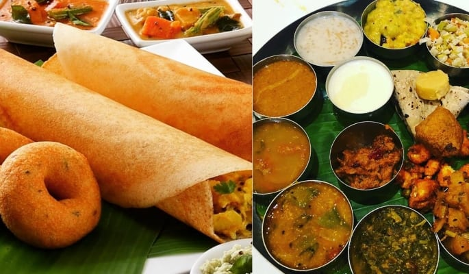 South Indian (Tamil) Thali