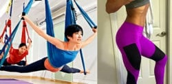 How a Yoga Swing and Pants can Help You Get Fit