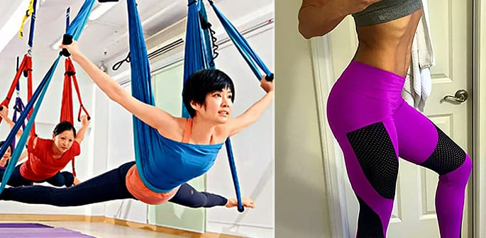 yoga pants yoga swing