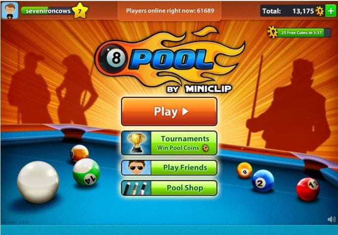 8 Ball Pool - 8 Mobile Games