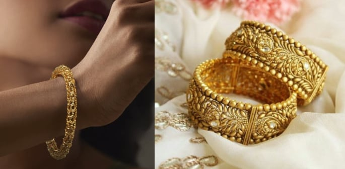 20 Bridal Gold Kangan Designs perfect for Your Wedding
