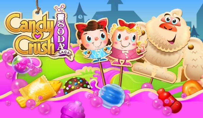 Candy Crush Soda - 5 Mobile Games