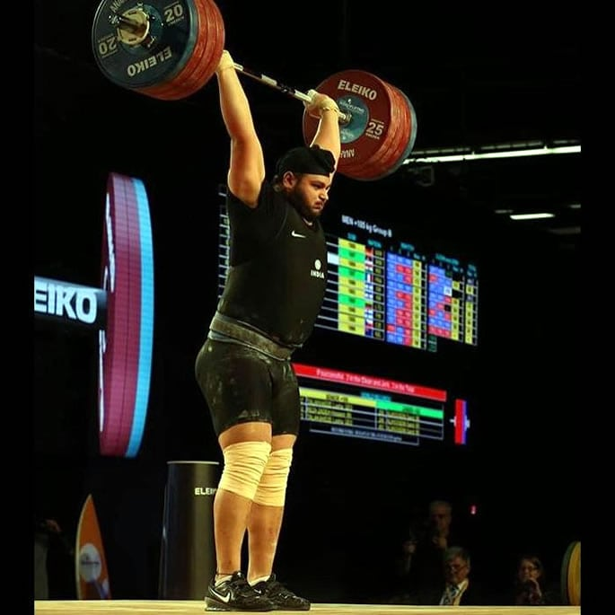 Gurdeep Singh - indian male weightlifters
