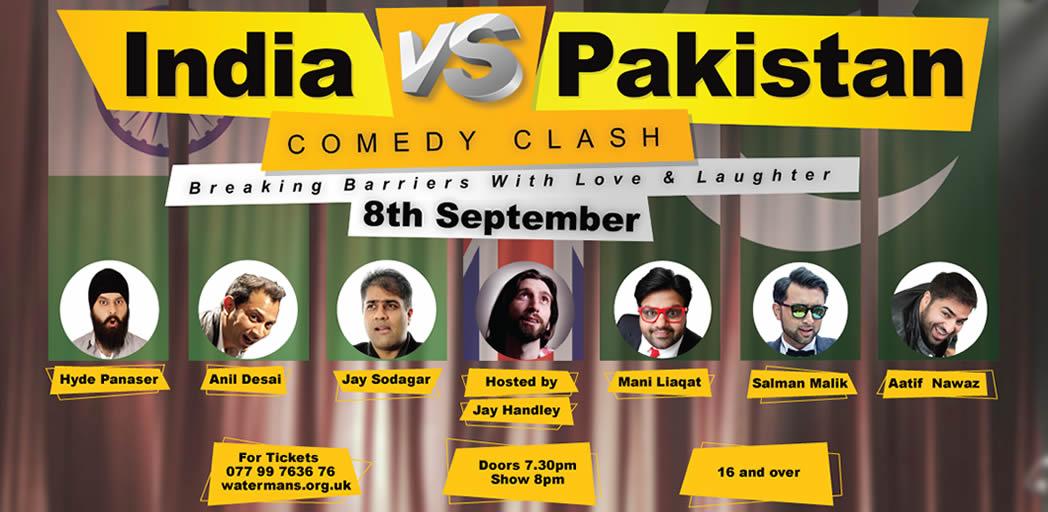 Win Tickets to India vs Pakistan Comedy Clash