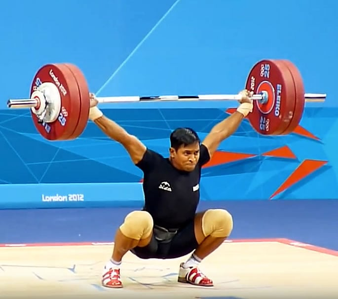Katulu Ravi Kumar - top indian male weightlifters