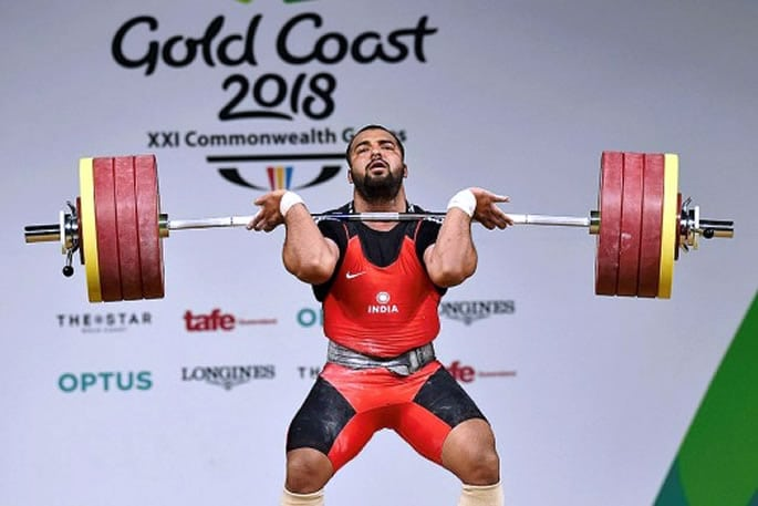 Pardeep Singh Indian male weightlifters