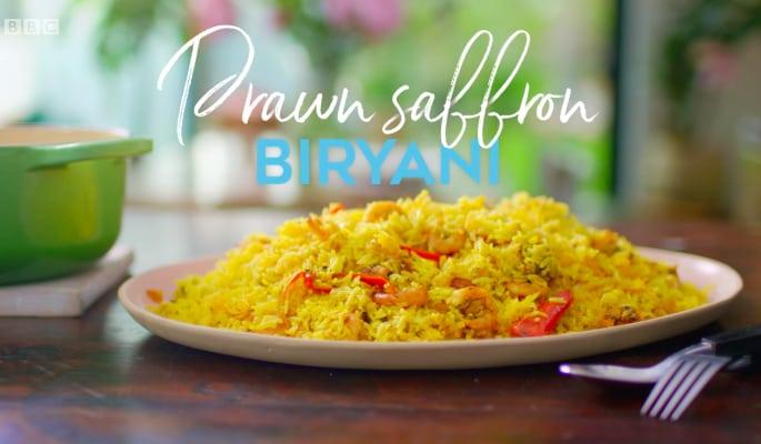 Nadiya Hussain: Prawn Saffron Briyani