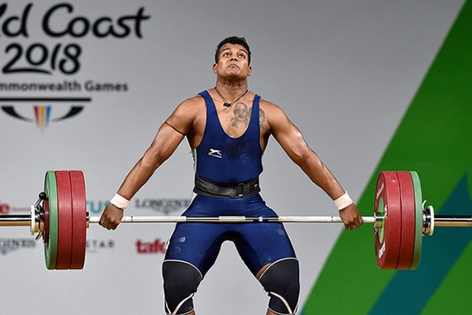 Ragala Venkat Rahul Indian male weightlifters