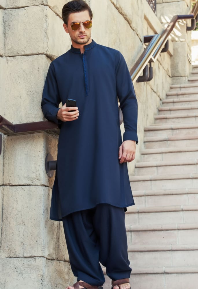 47049d6002 25 Latest Men's Eid Shalwar Kameez Designs For This Eid