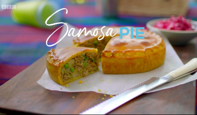 Nadiya Hussain: Samosa Pie