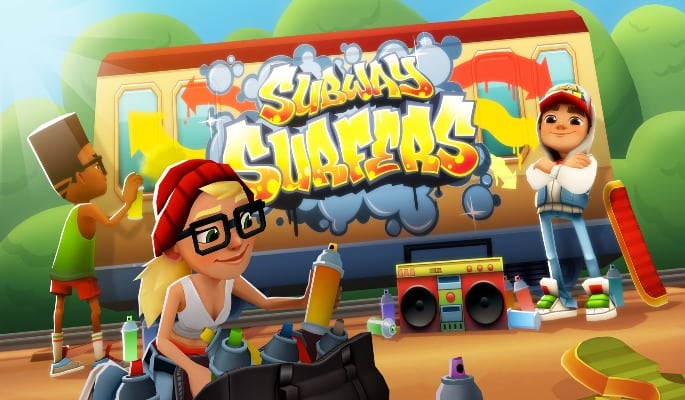 Subway Surfers - 5 Mobile Games