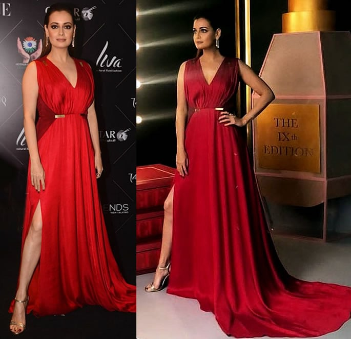Vogue Beauty Awards 2018 Dia Mirza
