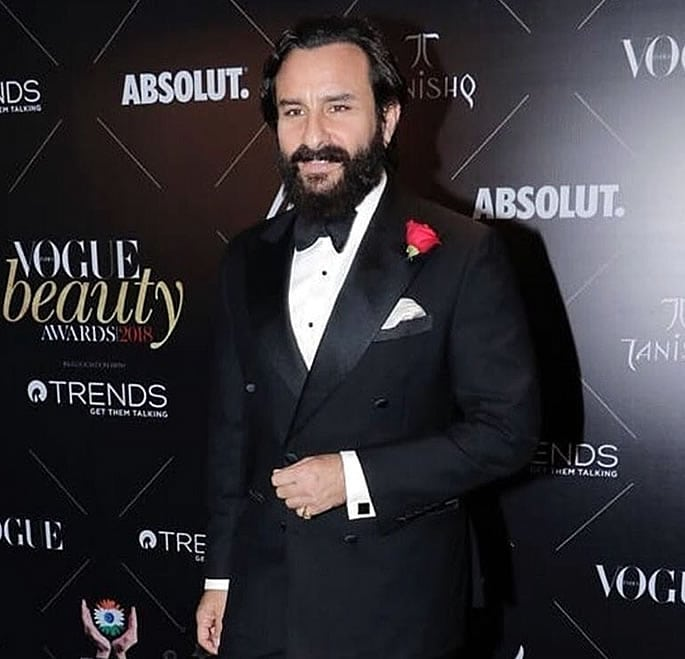 Vogue Beauty Awards 2018 Saif Ali Khan