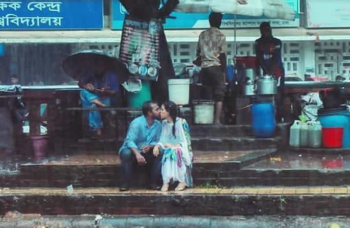 bangladesh kiss photograph