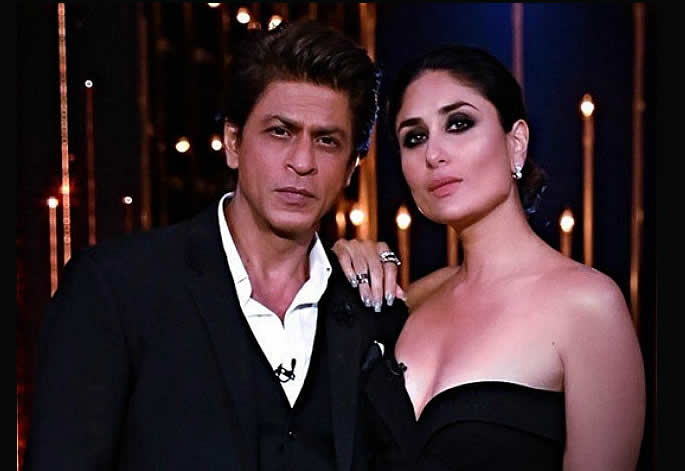 Salute: Kareena Kapoor Khan will star alongside SRK in Biopic