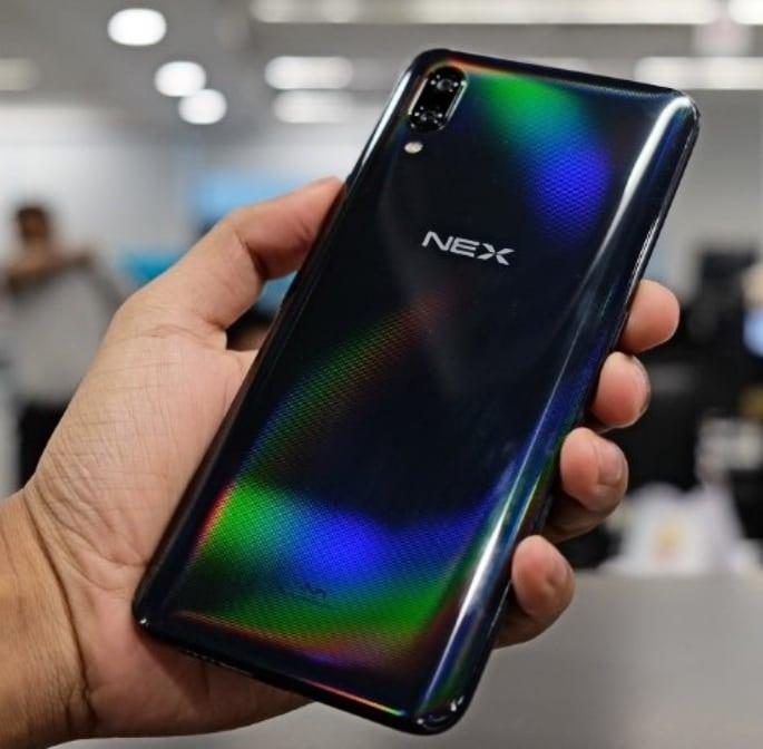 Vivo NEX smartphone - back