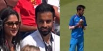 Man's Proposal to Girlfriend During Cricket Game