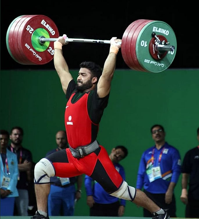 vikas thakur - top indian male weightlifters