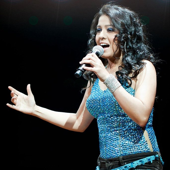 12 Famous Bollywood Female Playback Singers - Sunidhi Chauhan