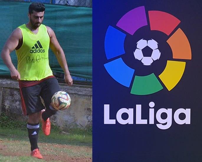 Arjun Kapoor La Liga football