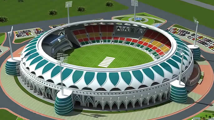 Cricket Stadiums - Lahore New Stadium