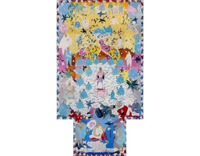 Indian paintings Wish Dreams Arpita Singh