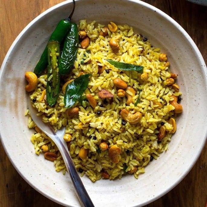 Lemon Rice - Desi Recipes