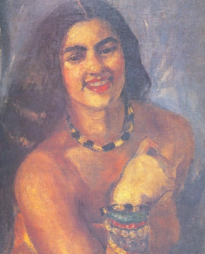 Self Portrait - Indian Paintings