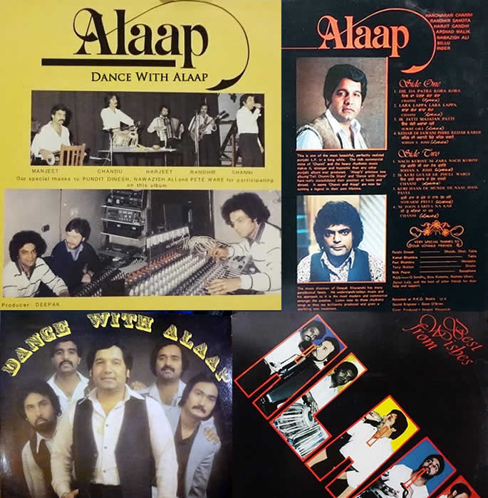 bhangra bands 1980s alaap albums