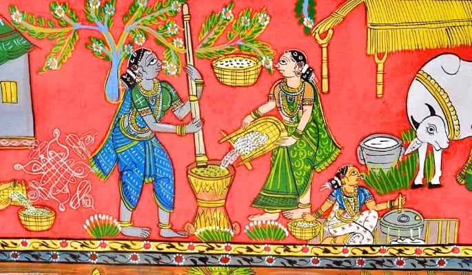 cheriyal - indian art form