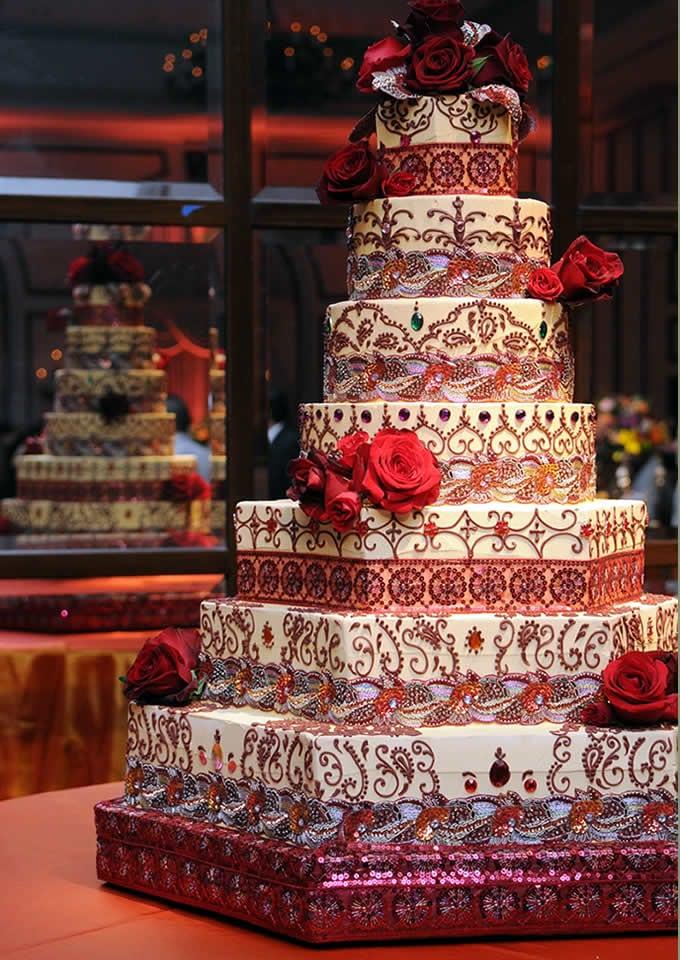 desi wedding cakes desi decor