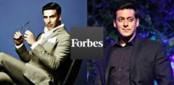 Salman Khan & Akshay Kumar on Forbes Highest Paid Actors List