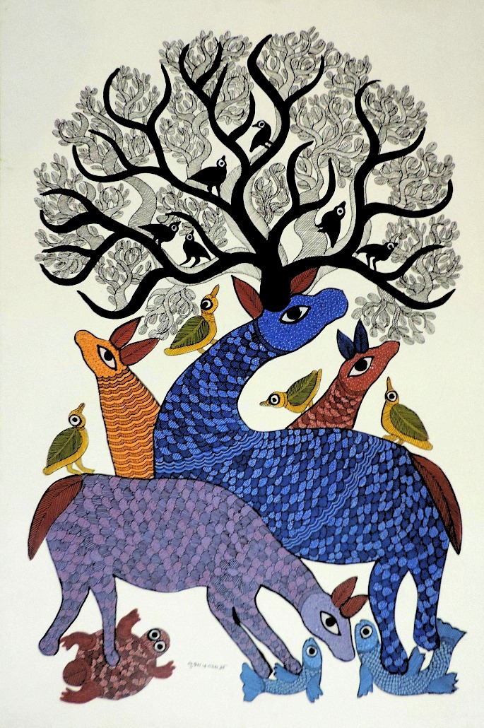 gond - Indian art form