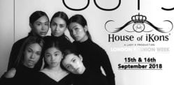 House of iKons: September 2018 London Show