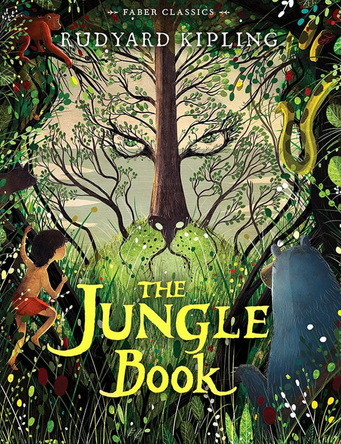 indian children's book - jungle book